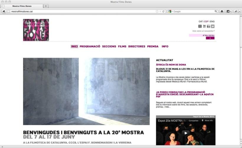 20ª Mostra Internacional de Films de Dones de Barcelona 2