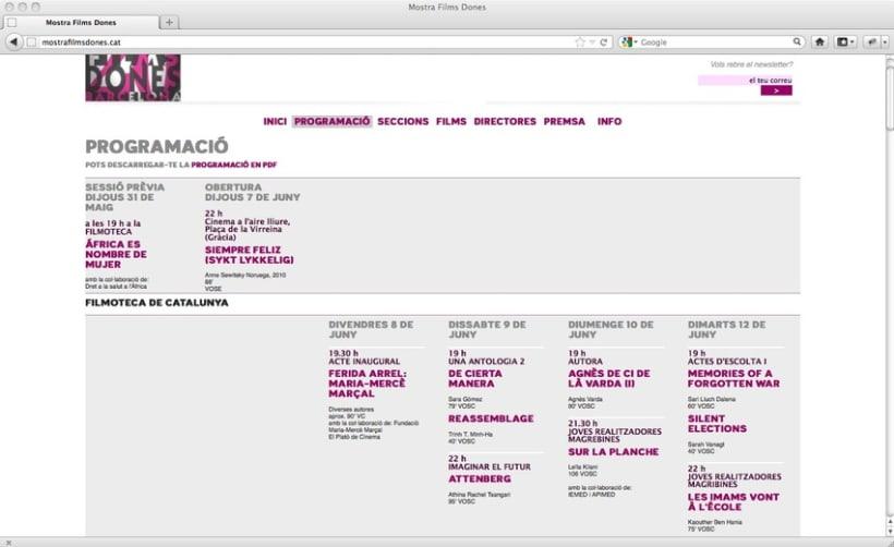 20ª Mostra Internacional de Films de Dones de Barcelona 3