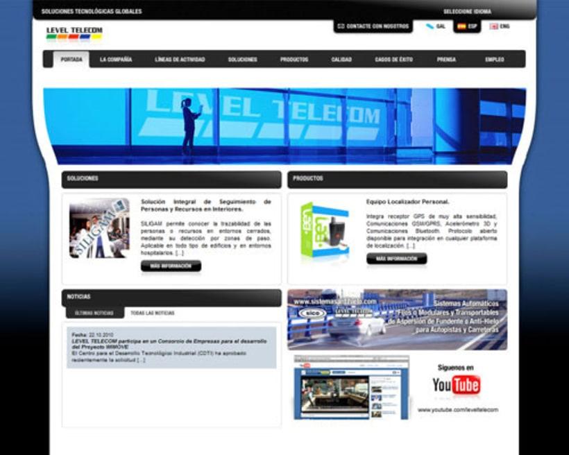 Level Telecom s.l. (www) 1