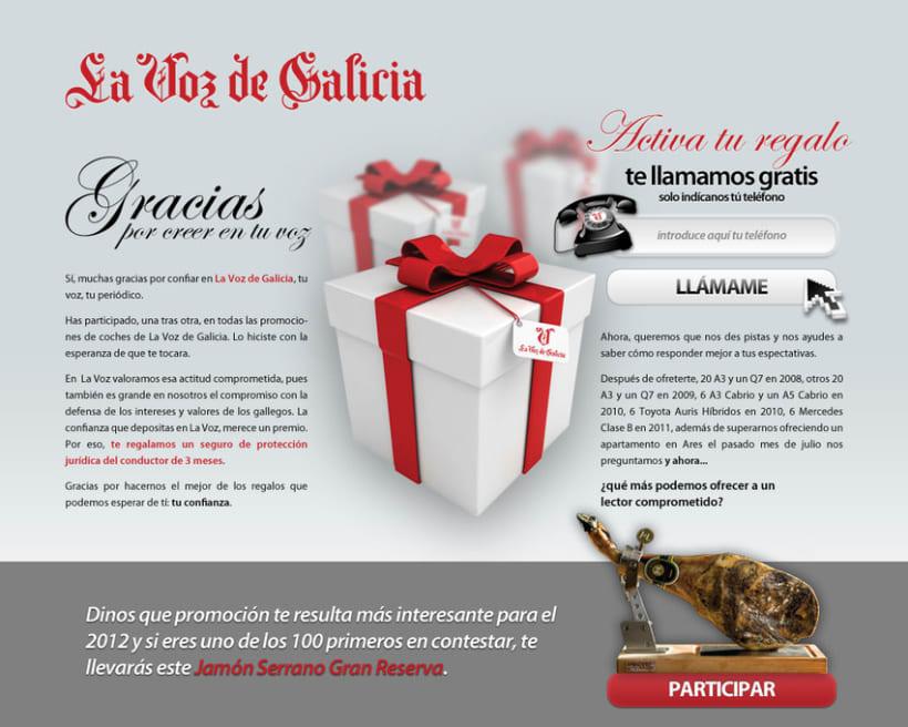 Campaña La Voz de Galicia 1