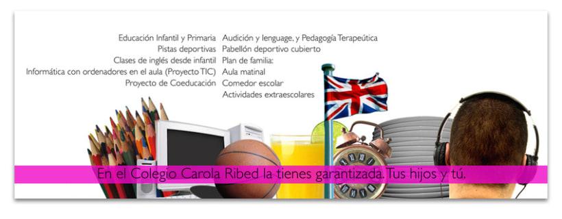 Colegio Carola Ribed: Folleto oferta servicios 3