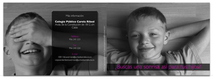 Colegio Carola Ribed: Folleto oferta servicios 2