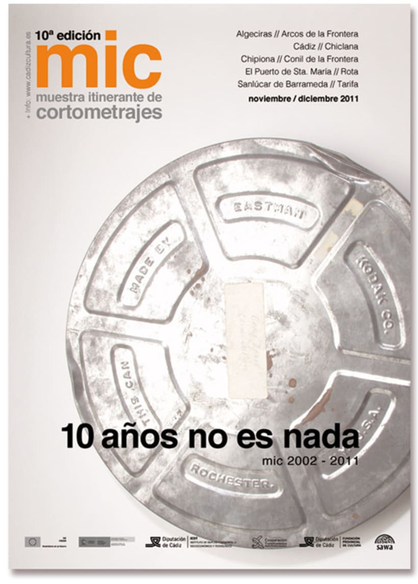 MIC: Muestra Itinerante de Cortometrajes 2011  2