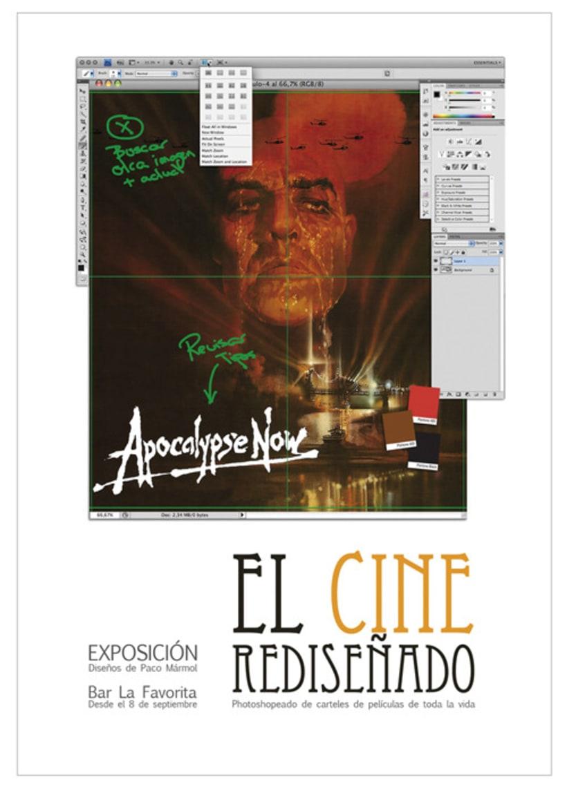 La Favorita: Cartel exposición El Cine Rediseñado 2