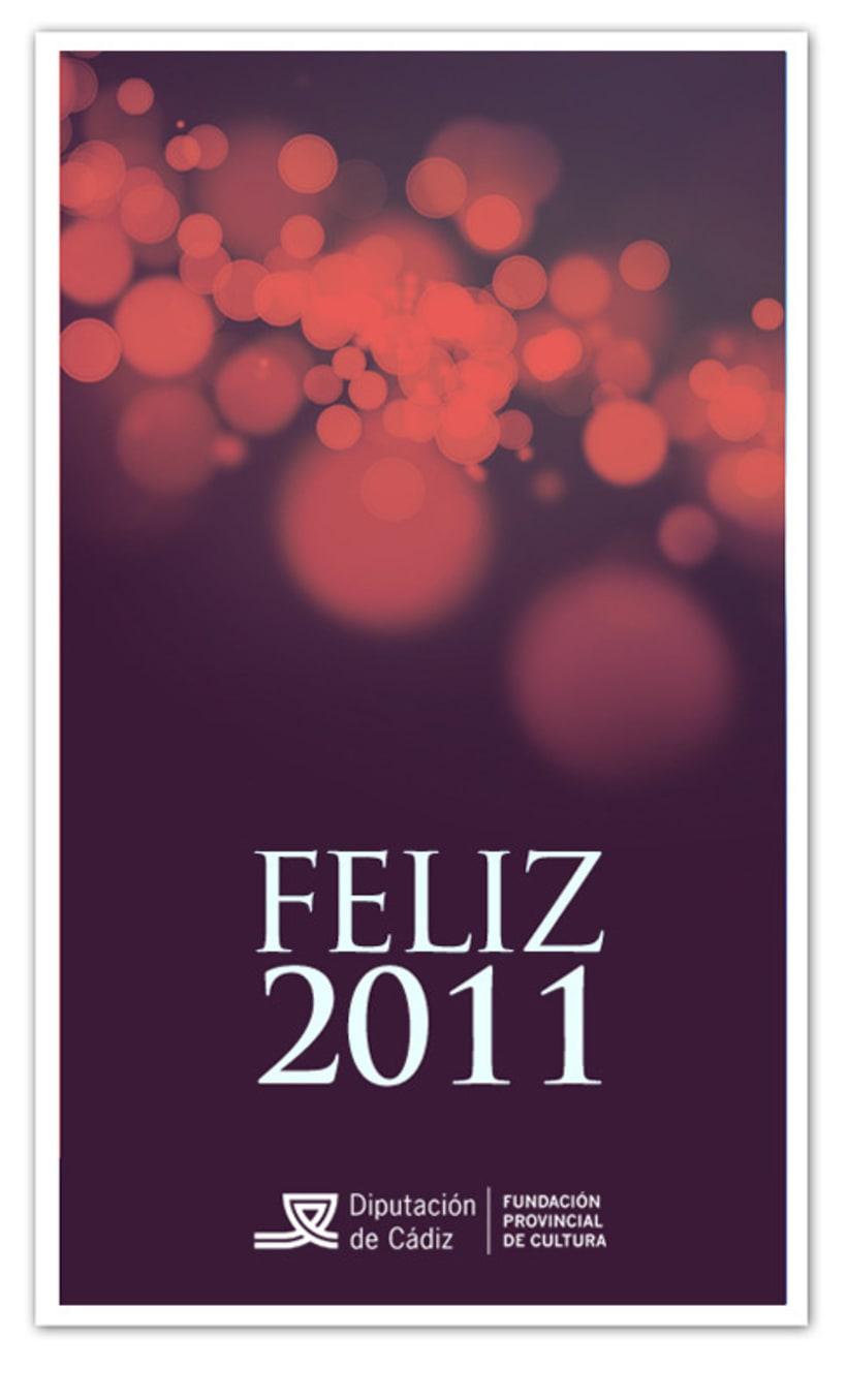 Felicitación Navidad Fundación Provincial de Cultura 2