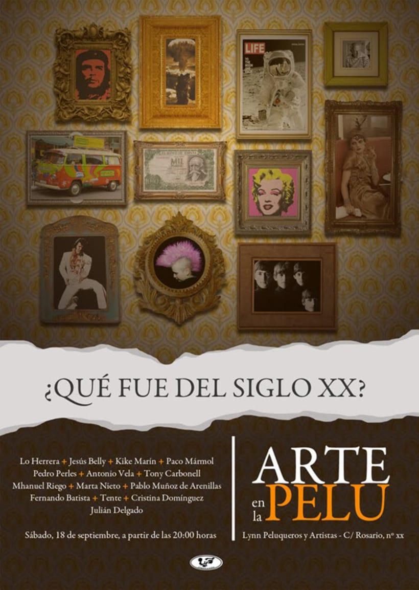 Arte en la Pelu: cartelería 4