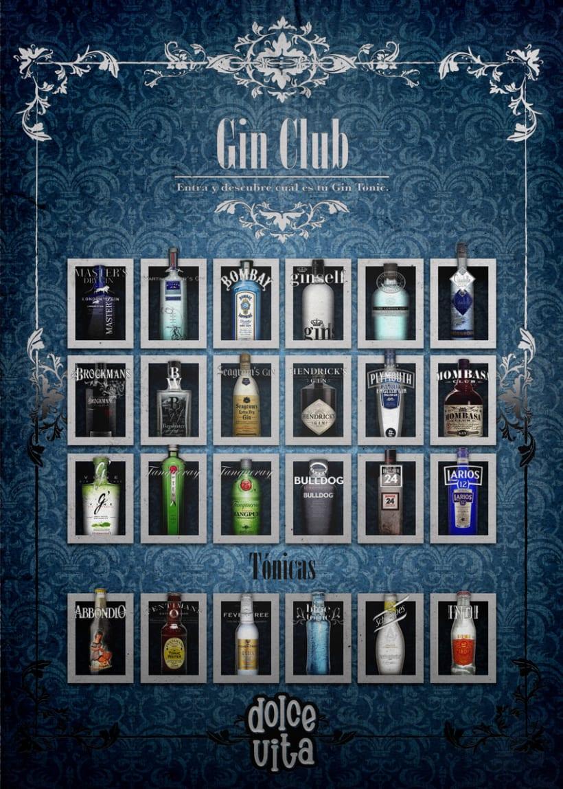 Dolce Vita Gin Club 9