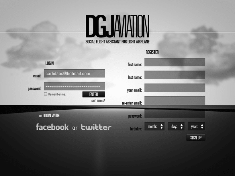 DGJAviation - Social Flight Assistant for Light Airplane 3