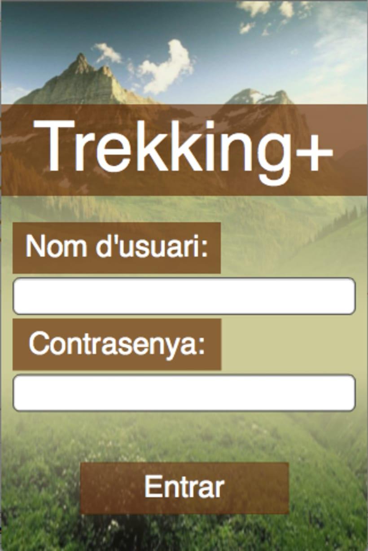 Diseño Interfaz de Trekking+ 3