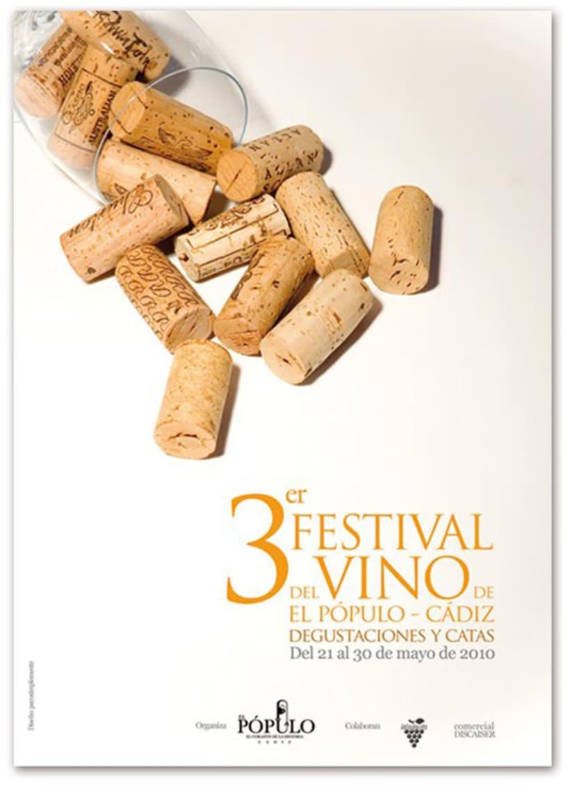 Festival del Vino de El Pópulo: Cartel 3ª edición 2