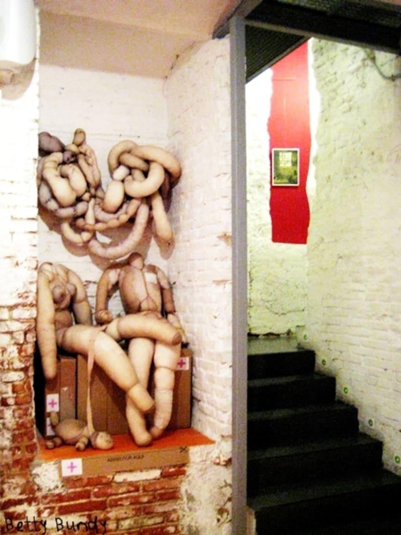 Arte y Diseño Textil (escenografía, instalación, esculturas blandas, tratamiento de objetos) 12