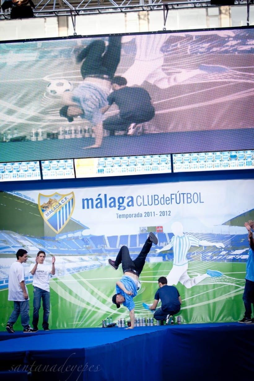 Malaga C.F x Nike Show 3