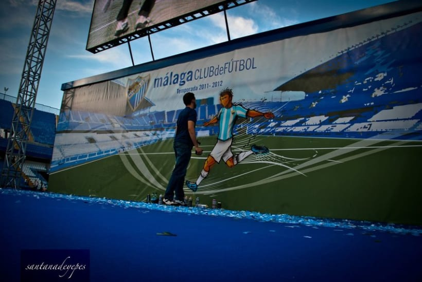 Malaga C.F x Nike Show 9
