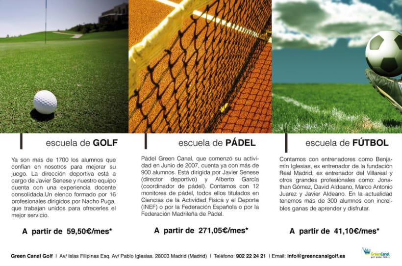 GreenCanal Golf Club. Folders, Brochures. 5