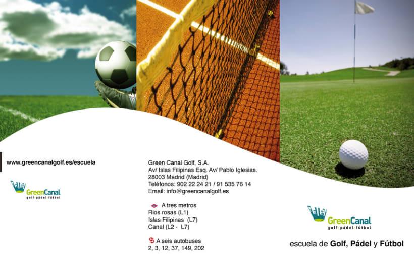 GreenCanal Golf Club. Folders, Brochures. 4