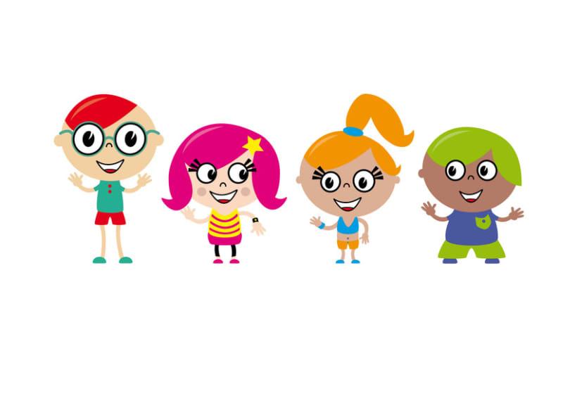 Ilustraciones personajes infantiles 1