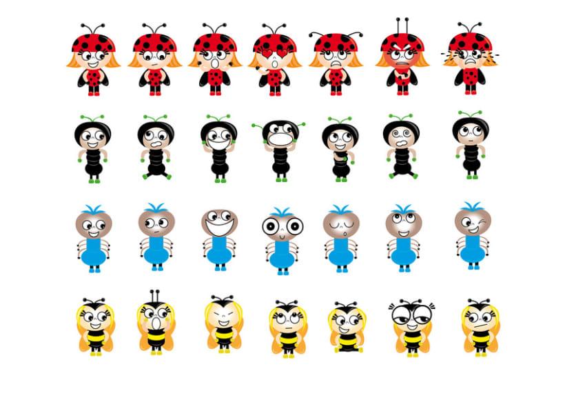Ilustraciones personajes infantiles 2