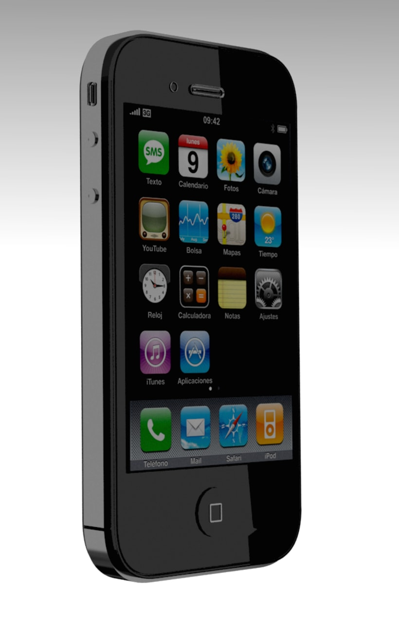 iPhone en 3D 2