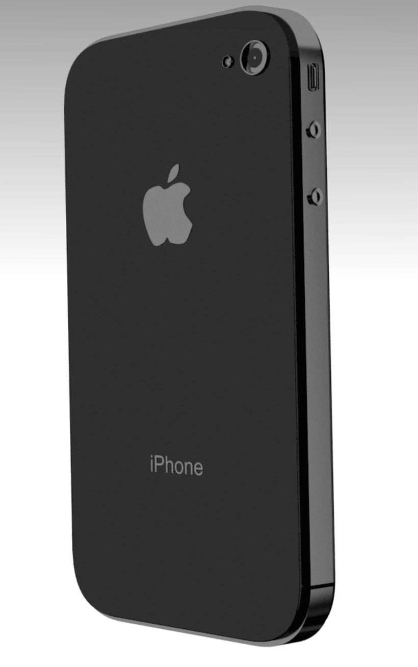 iPhone en 3D 3