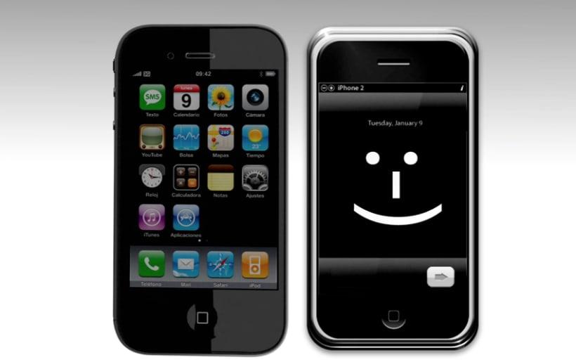 iPhone en 3D 4