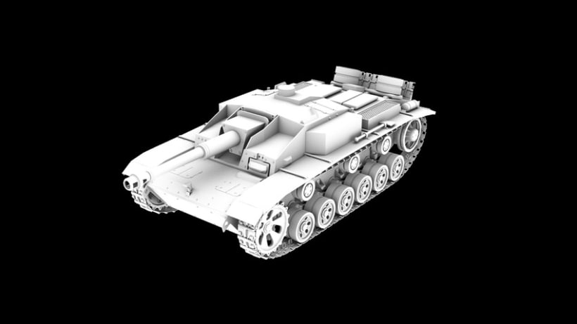 Tanque STUG3 1
