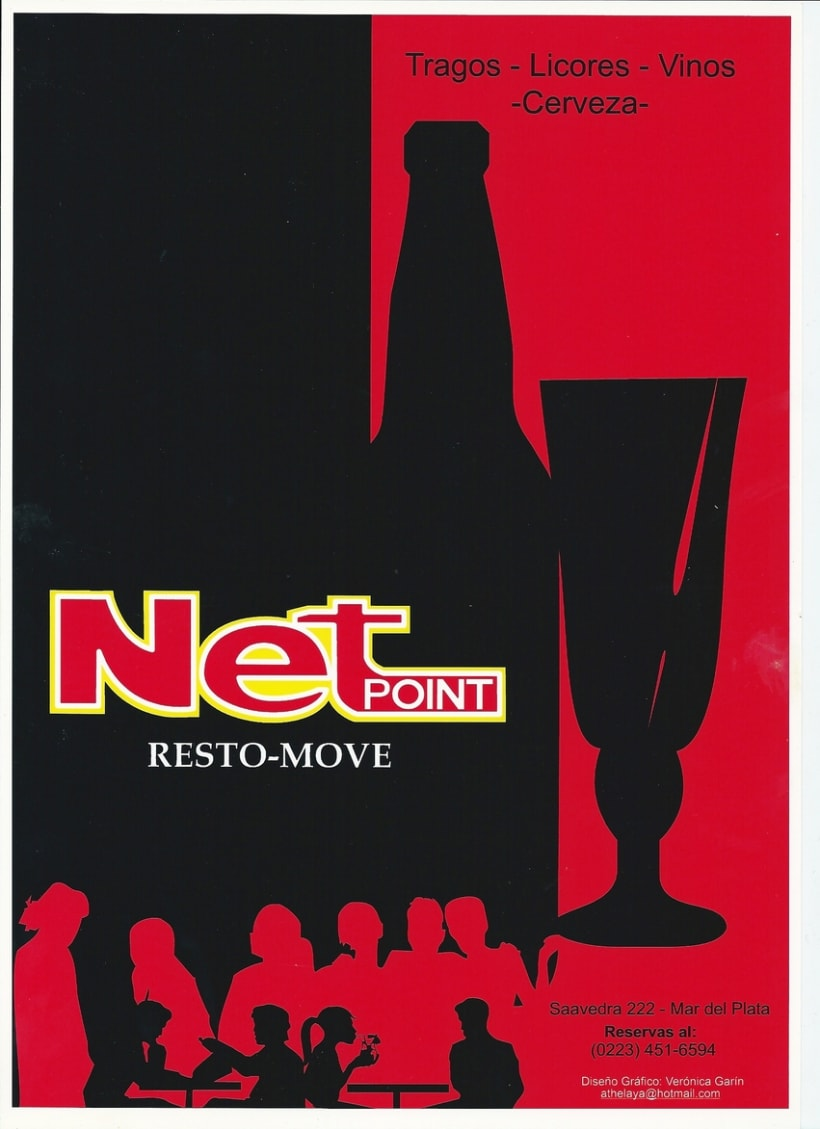 "Resto_Bar ""Net PoinT"" Mar del plata- Argentina (FreeLance) 2"
