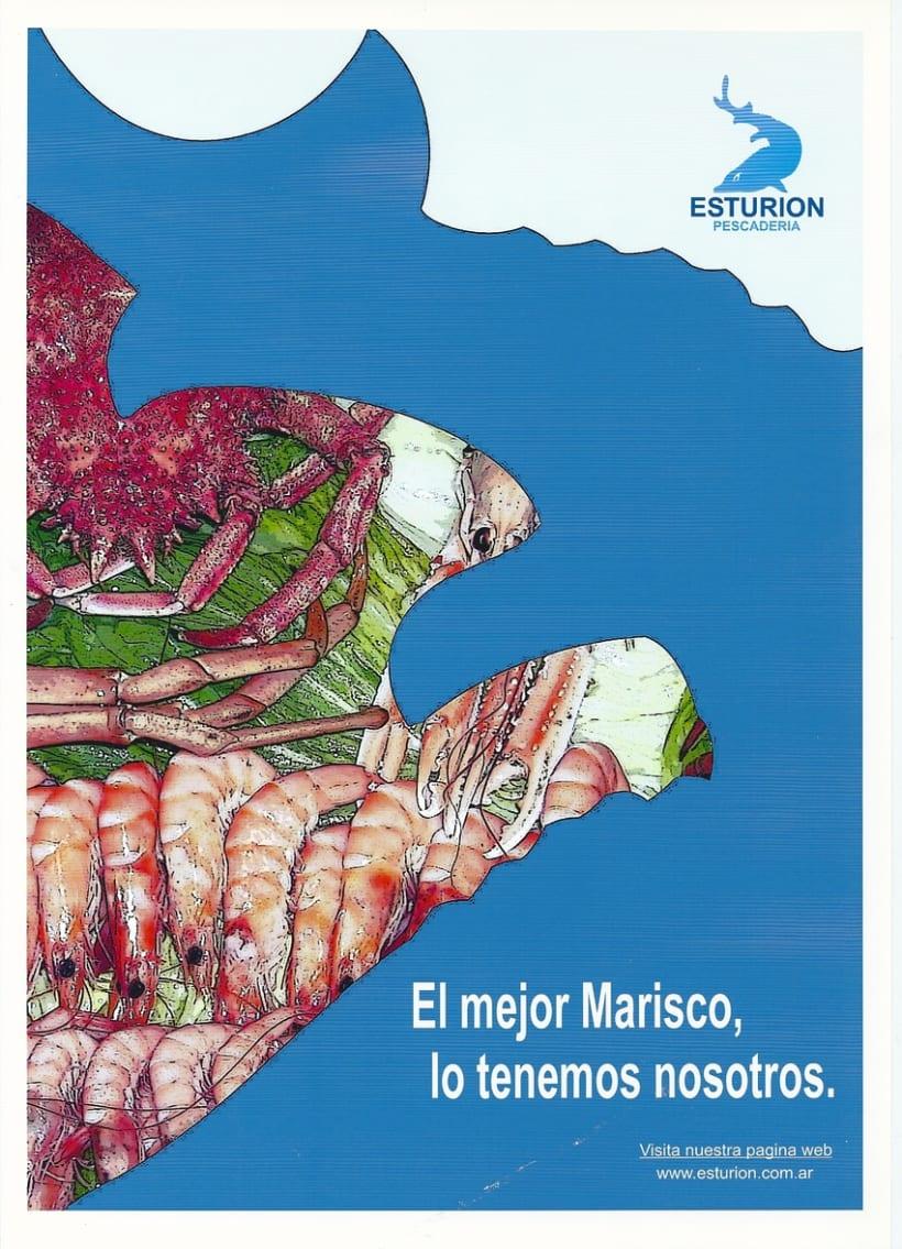 "Pescaderia ""Esturión"" Buenos Aires- Argentina (FreeLance) 7"