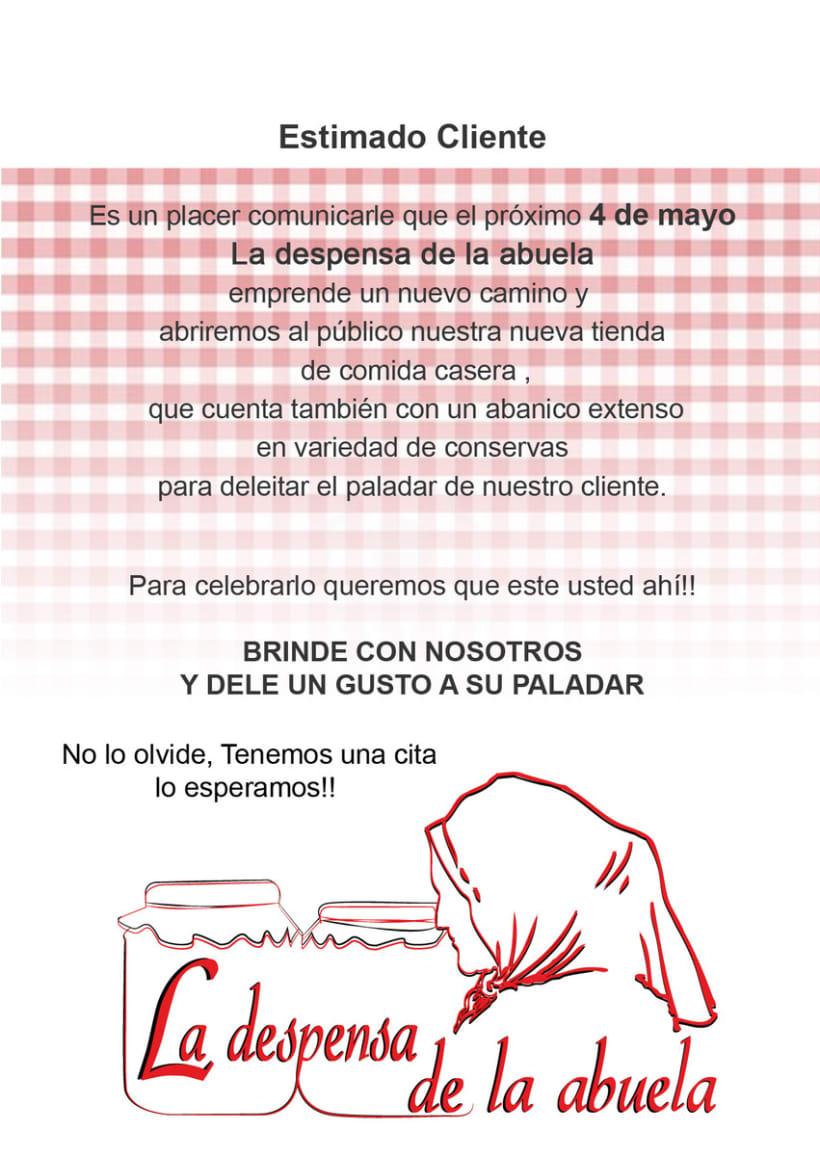 """Proyecto """"La despensa de la Abuela"""" 7"""