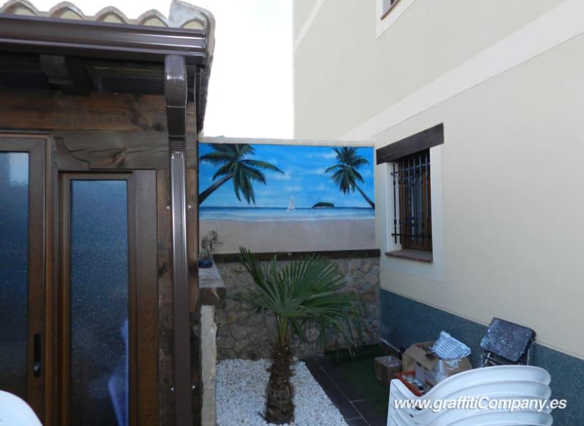 Mural de playa 3