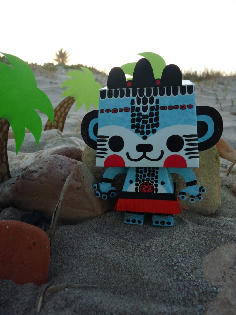 Paper toy  4