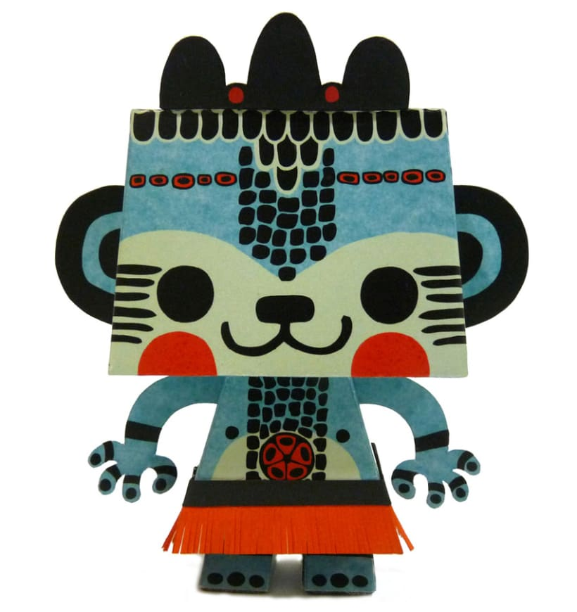 Paper toy  3