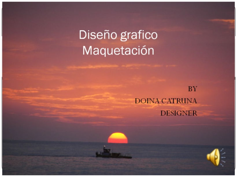 PORTFOLIO DE DOINA CATRUNA. DISEÑO Y MAQUETACIÓN 1