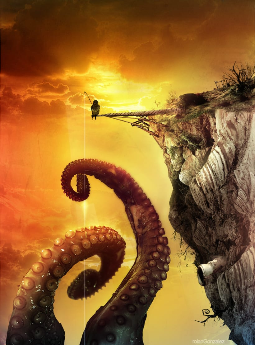 The Fisherman of Giant Octopus 2