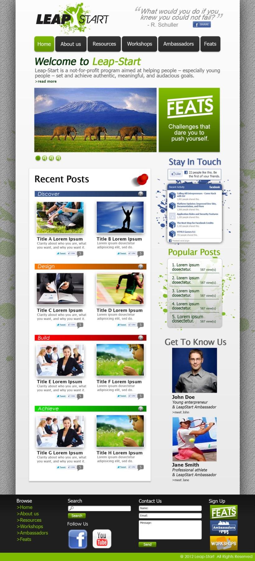 LeapStart Web Design 1