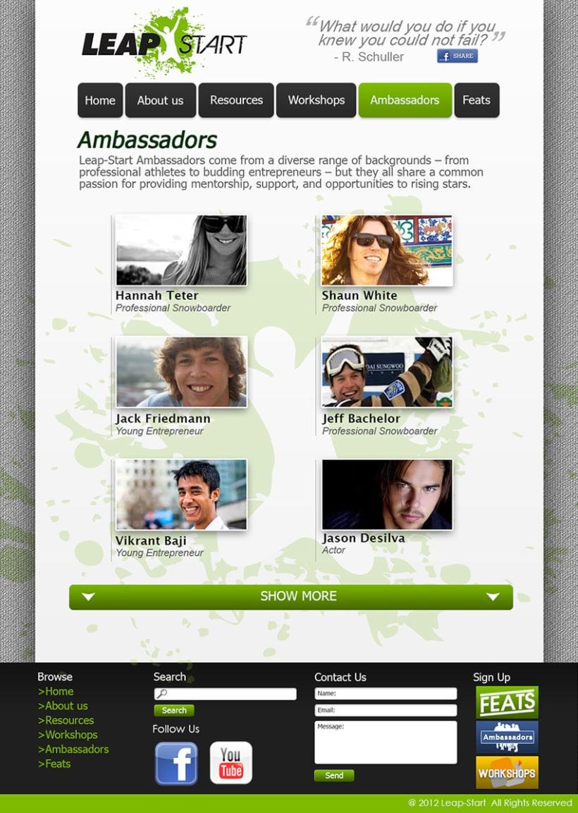 LeapStart Web Design 2