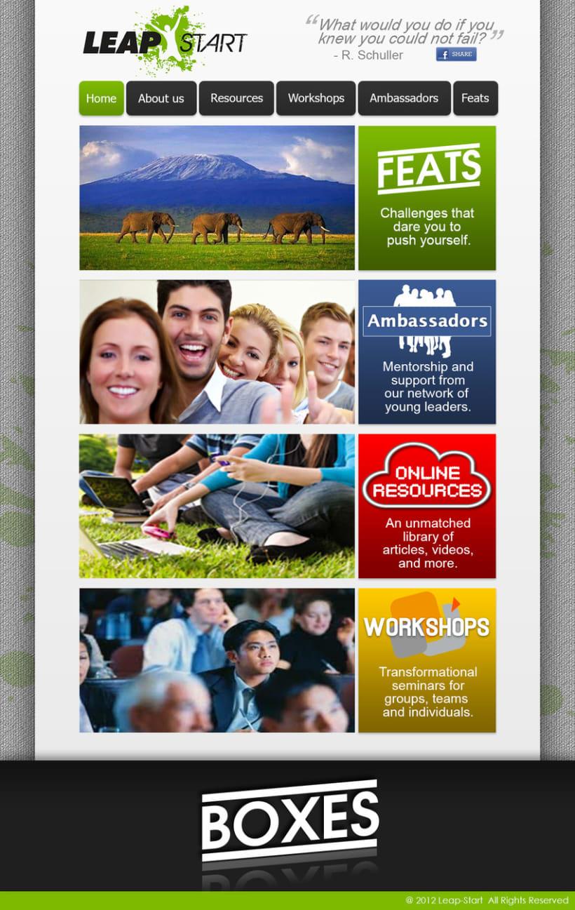 LeapStart Web Design 3
