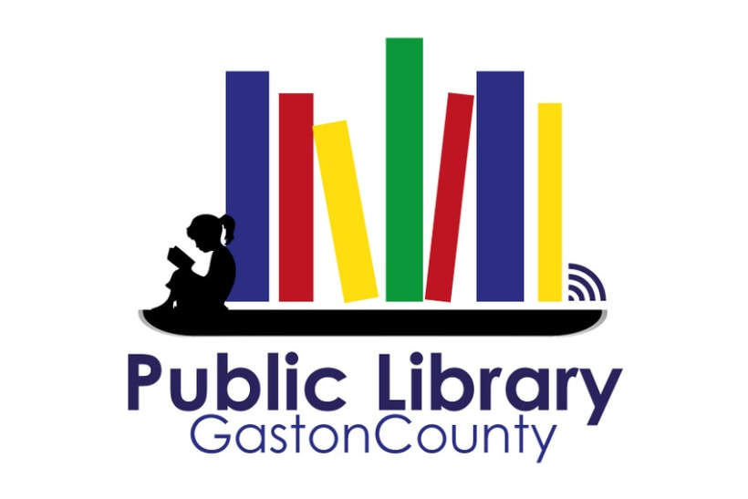 Gaston County Public Library Logo 2
