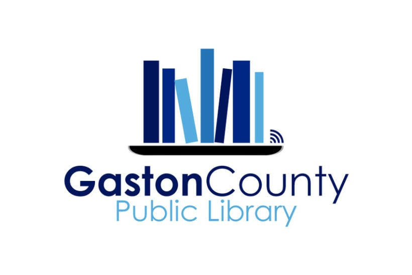 Gaston County Public Library Logo 1