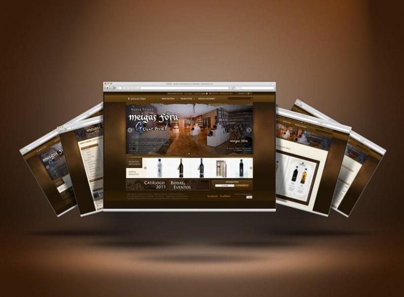 Meigas Fóra web tienda on-line 2011 1