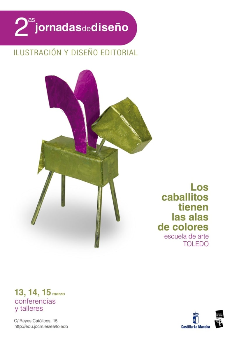 2as Jornadas de diseño, Escuela de Arte de Toledo  2