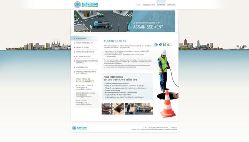Direction Artistique de la page web De JB Bonnefond 3