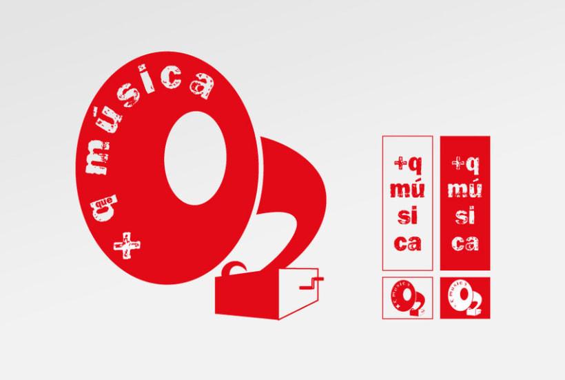 Identidad corporativa + q música 2