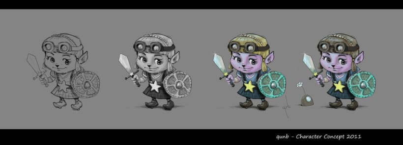 I-PAD Character concept 2