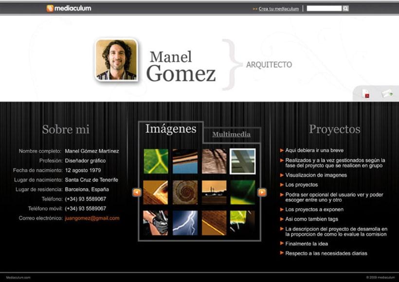 Mediaculum, portafolio multimedia 1
