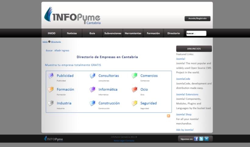Página web InfoPyme 14