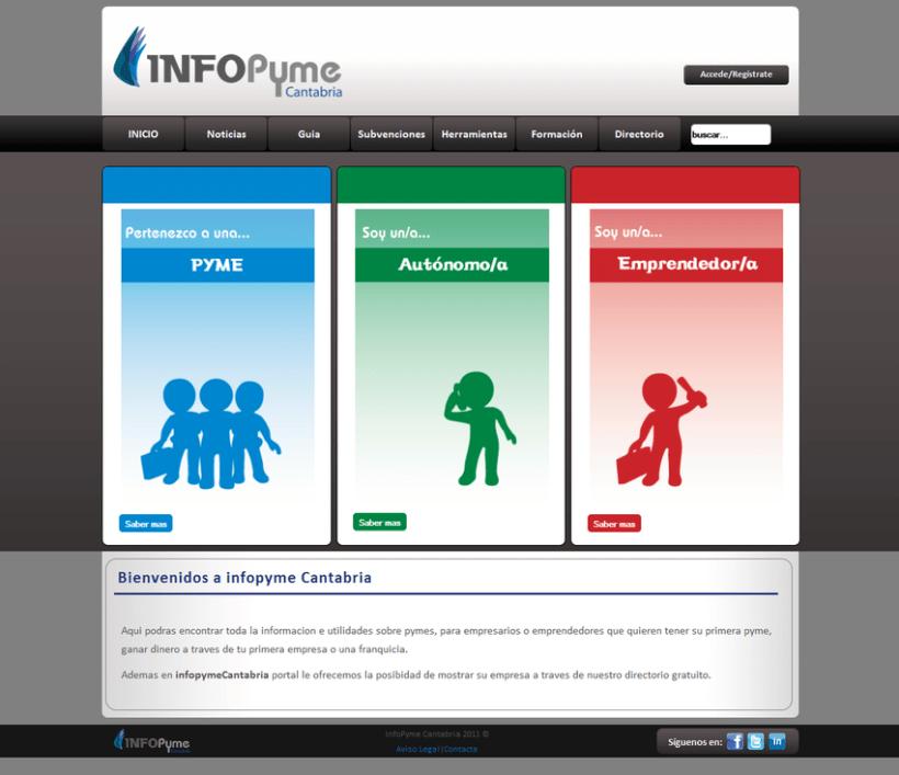 Página web InfoPyme 6