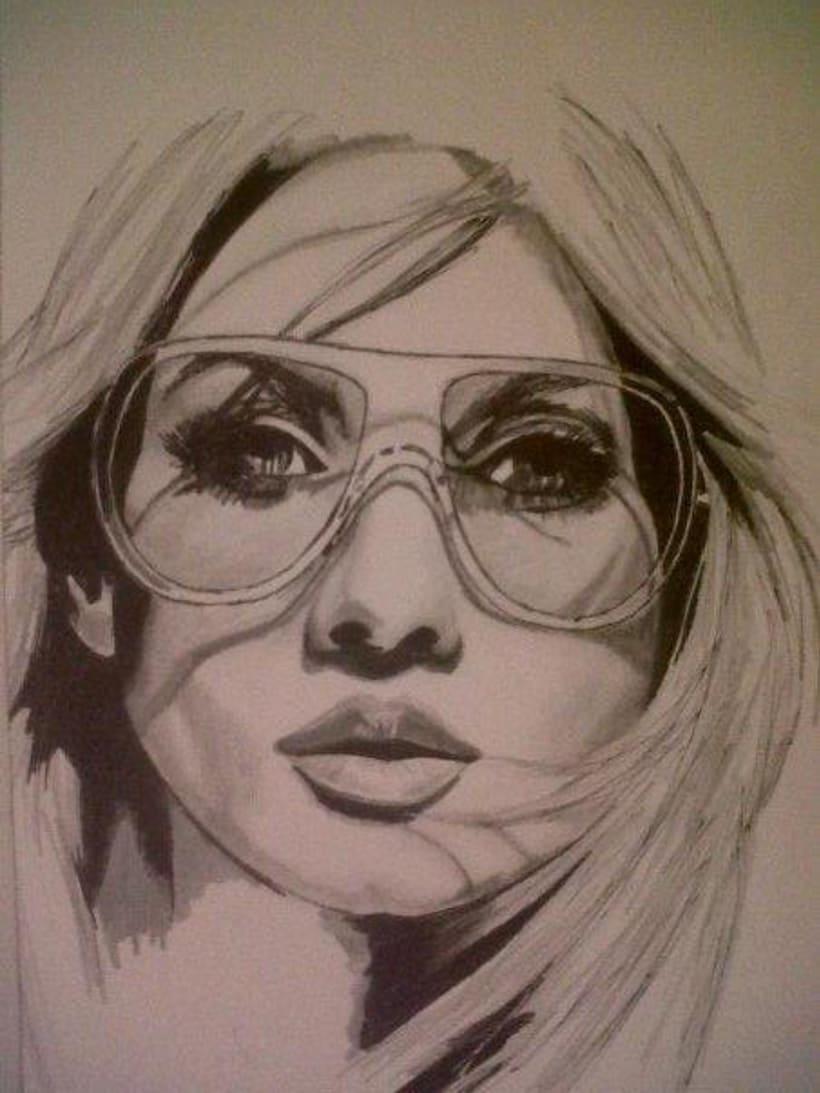 ilustracion draw faces 4