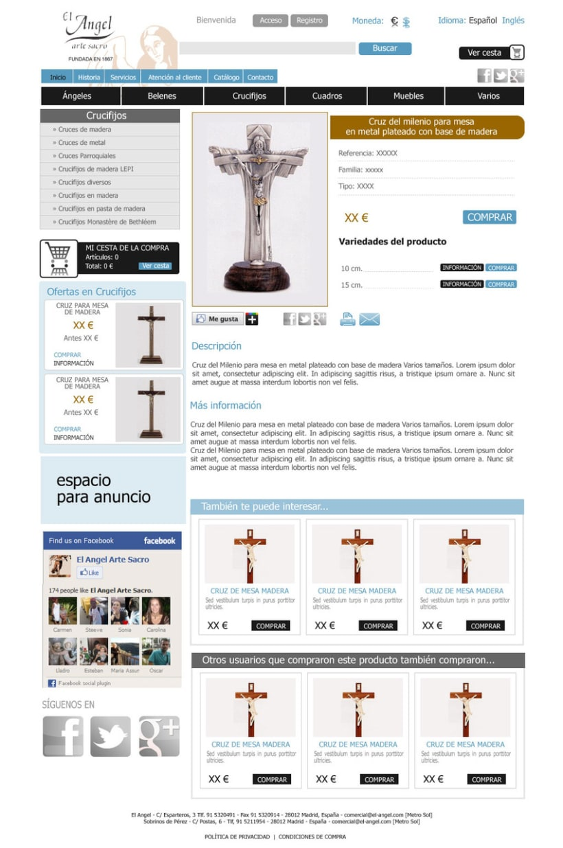 Tienda online El Angel 3