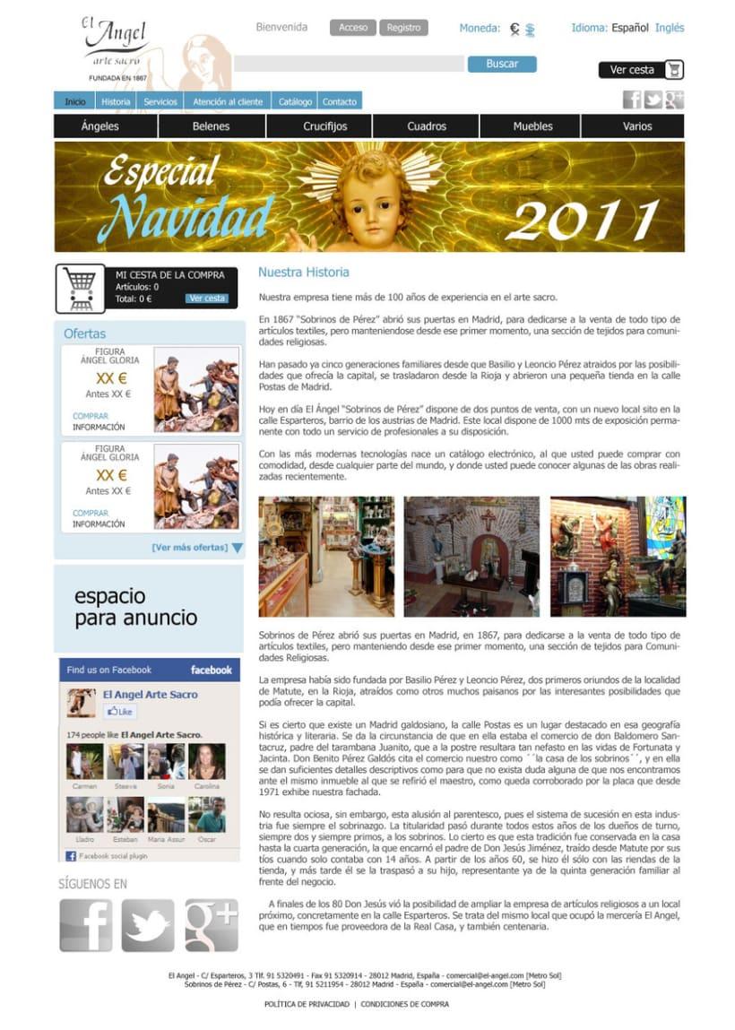 Tienda online El Angel 2