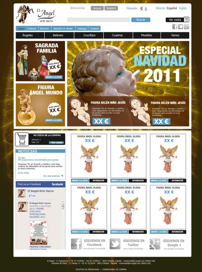 Tienda online El Angel 1